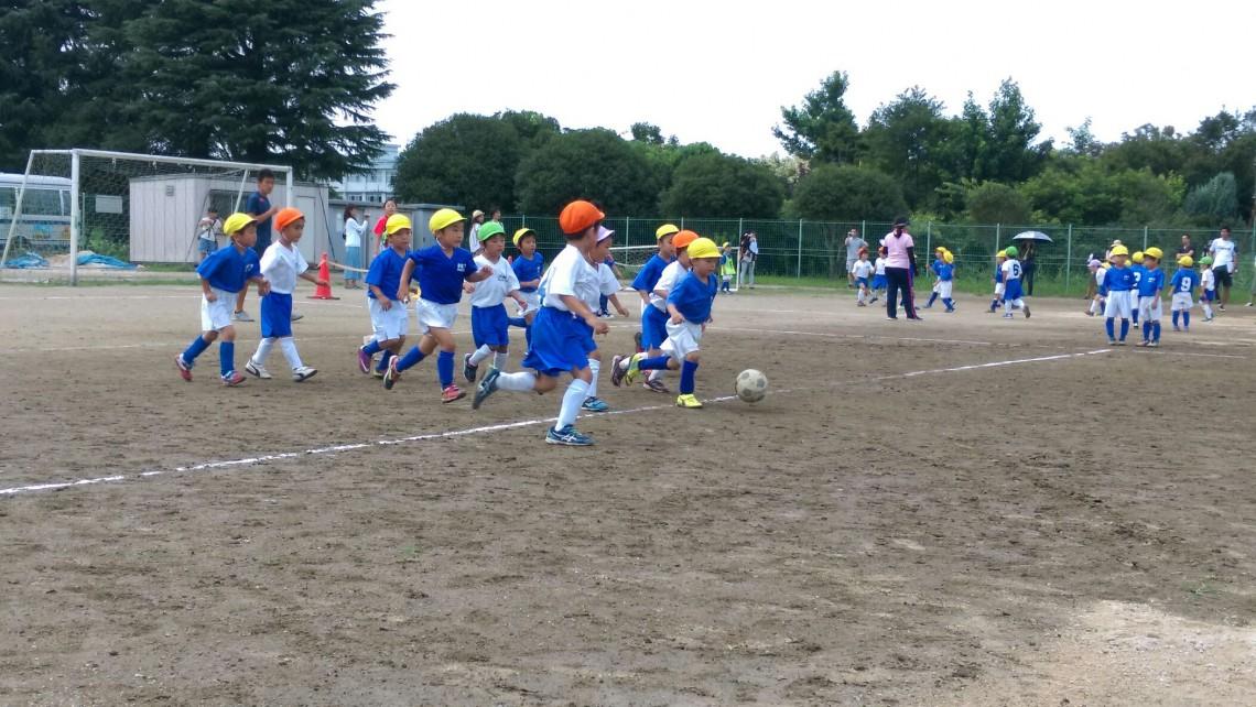 サッカー練習試合4