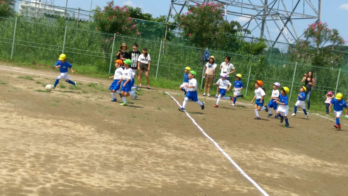 サッカー練習試合